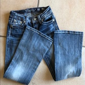 Miss Me Girls Jeans NEW 8 Bootcut NWOT